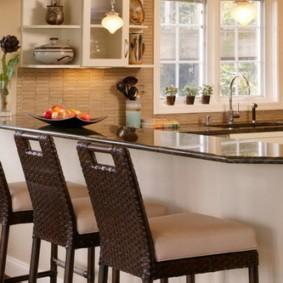 барные стулья для кухни дизайн