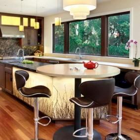 барные стулья для кухни дизайн фото