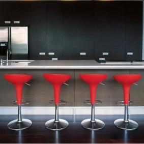 барные стулья для кухни фото дизайна