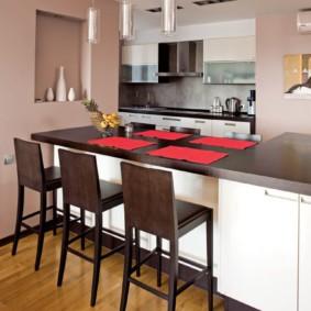 барные стулья для кухни декор фото