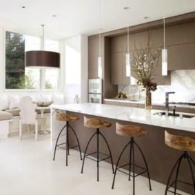 барные стулья для кухни фото декор