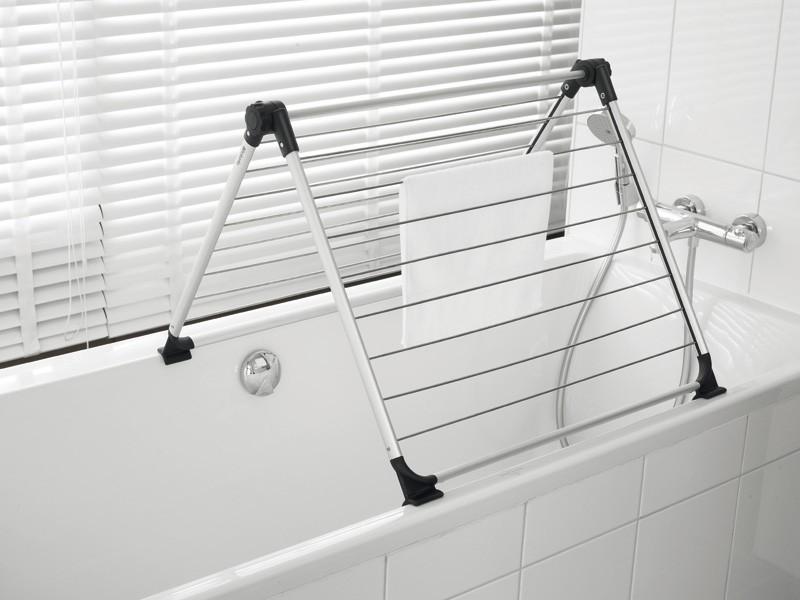 бельевые сушилки в ванной идеи фото