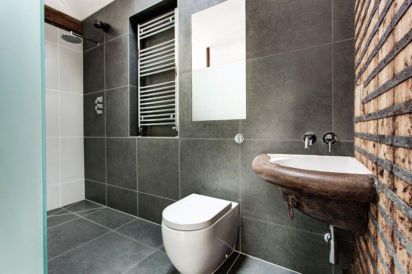 бельевые сушилки в ванной дизайн