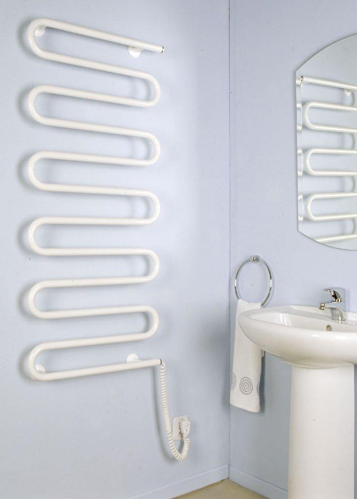 бельевые сушилки в ванной фото оформление