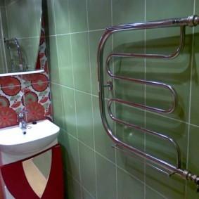 бельевая сушилка в ванной фото видов