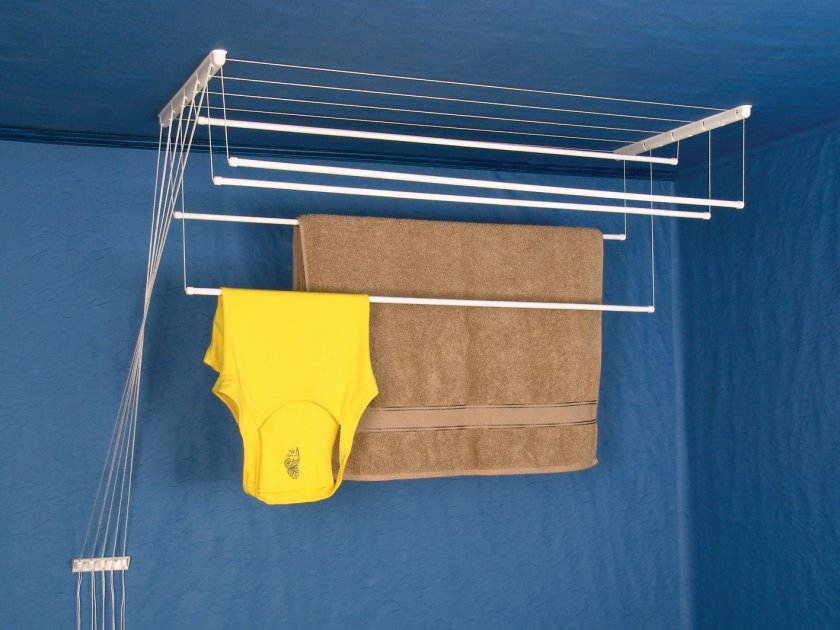 бельевые сушилки в ванной фото