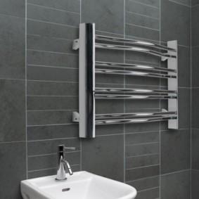 бельевая сушилка в ванной идеи интерьер