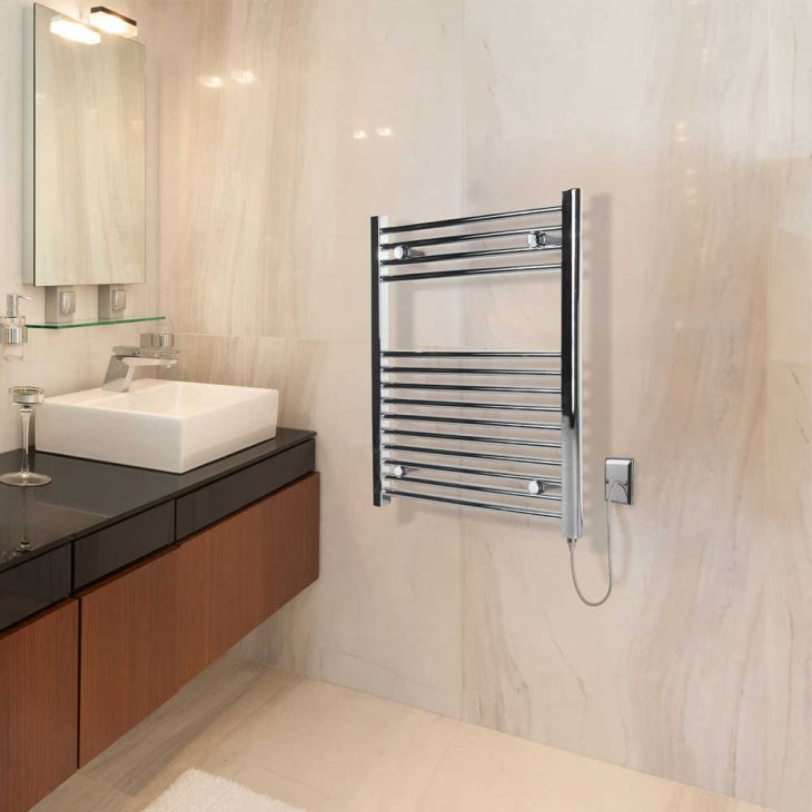 бельевые сушилки в ванной оформление идеи