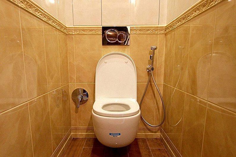 Гигиенический душ в туалете старой хрущевки
