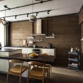 бюджетный интерьер кухни фото декор