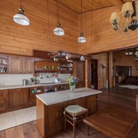 бюджетный интерьер кухни фото дизайна