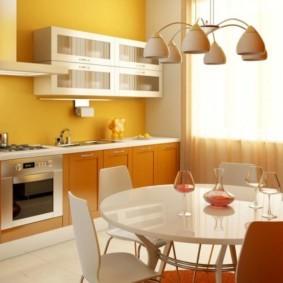 бюджетный интерьер кухни фото варианты