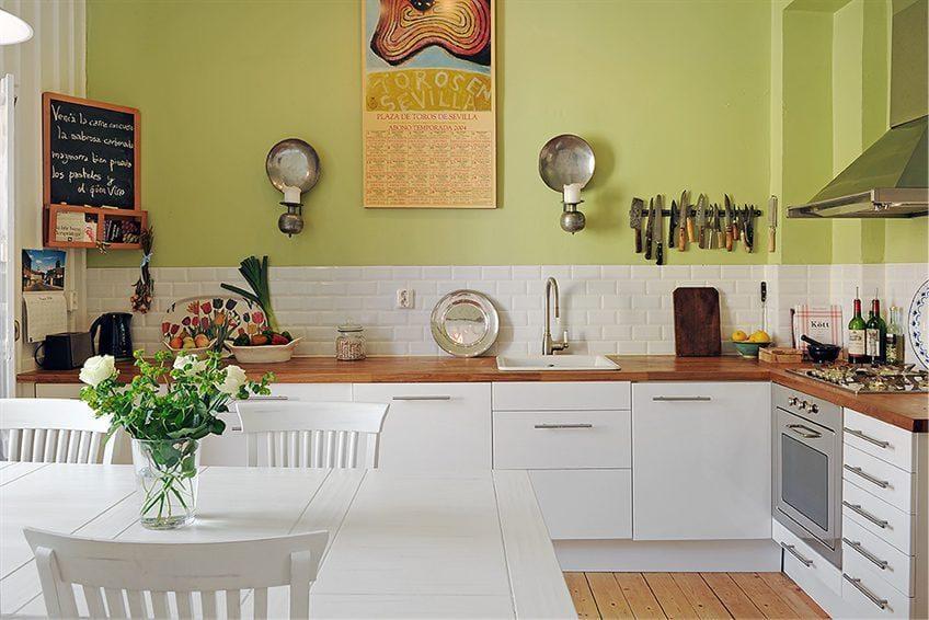 бюджетный интерьер кухни виды декора