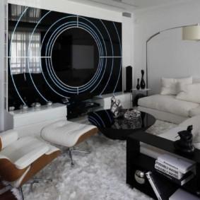 спальня-гостиная 18 кв.м.