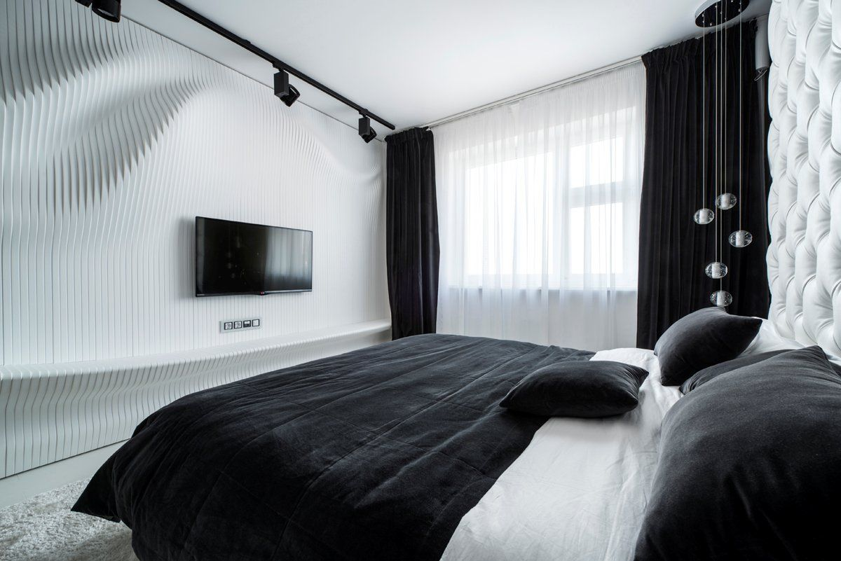 вот ради шторы черно белые в спальной комнате фото обиду сестру
