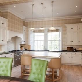 цвет стен на кухне дизайн фото