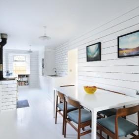цвет стен на кухне фото оформления