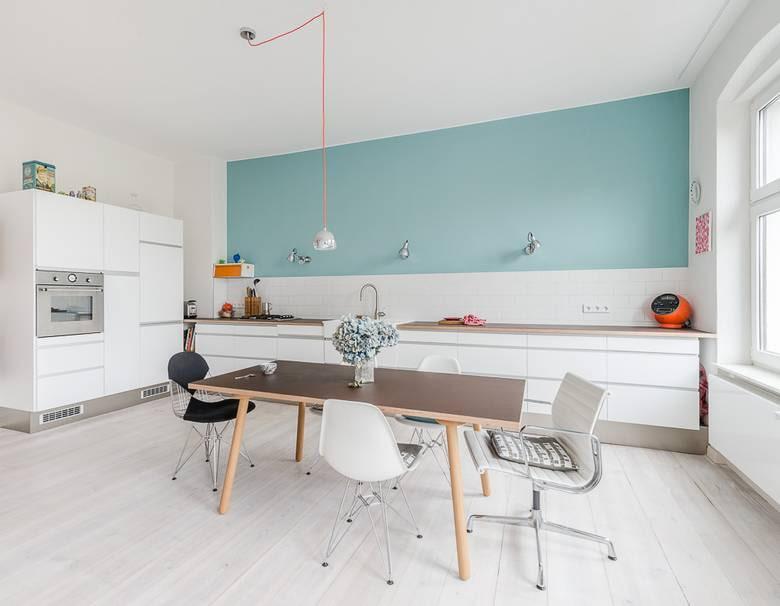 цвет стен на кухне фото видов