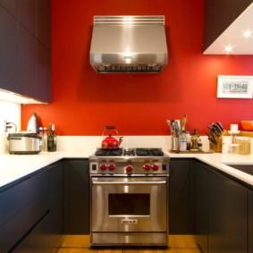 цвет стен на кухне идеи интерьер