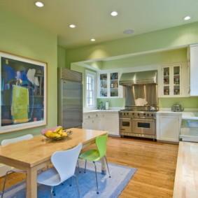 цвет стен на кухне идеи оформления