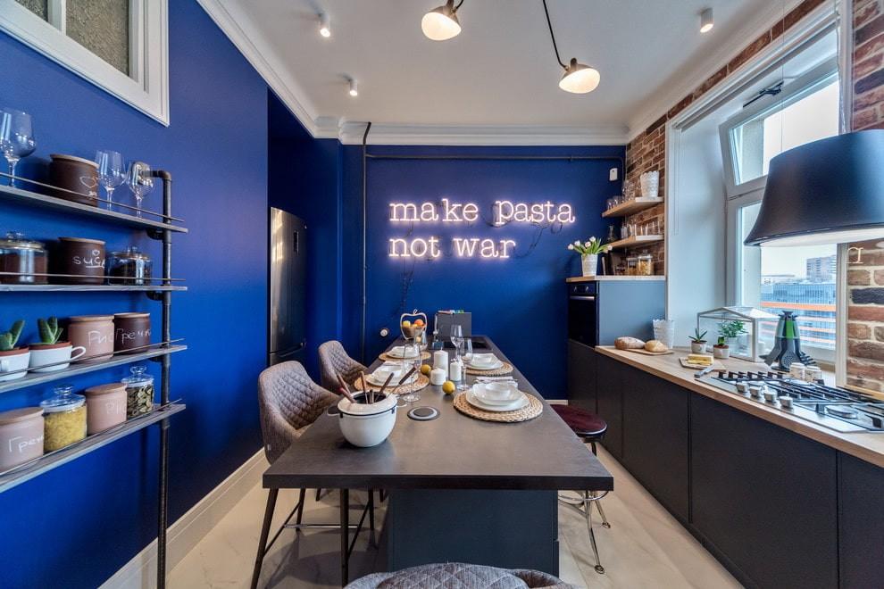 цвет стен на кухне идеи