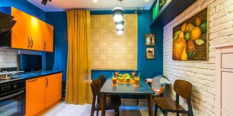 цвет стен на кухне оформление фото