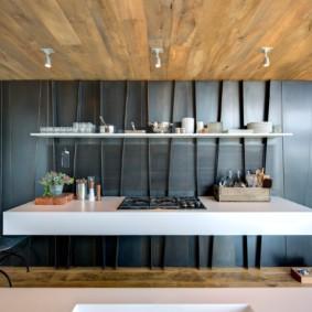 деревянная отделка