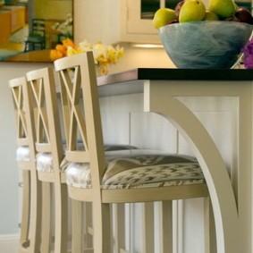 барные стулья для кухни идеи декор