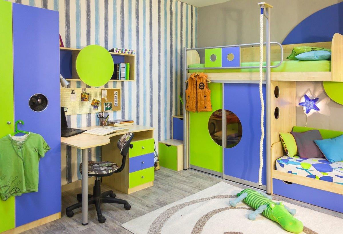 дизайн детской комнаты 7 кв м