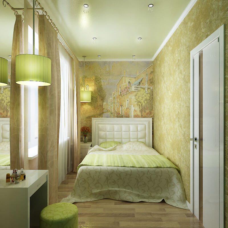 спальня 7 кв м