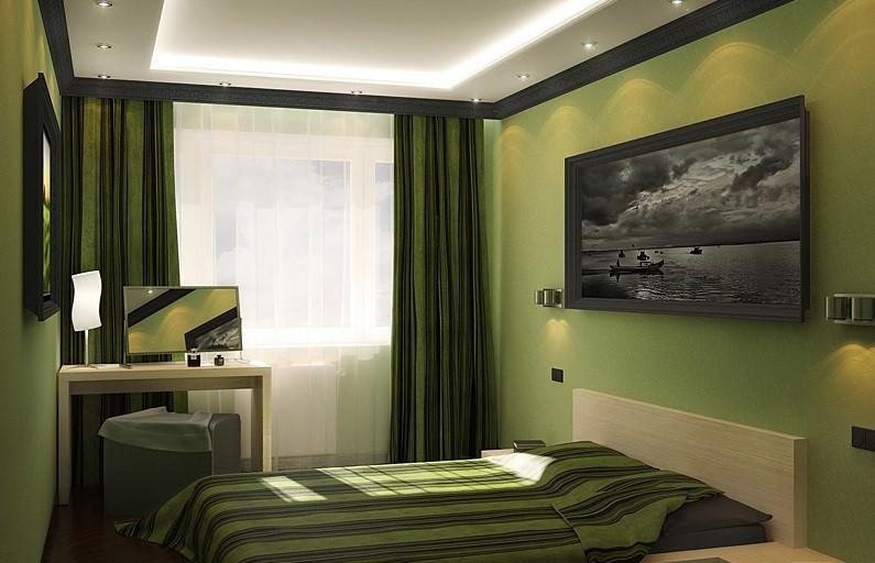 маленькая спальня 7 кв м