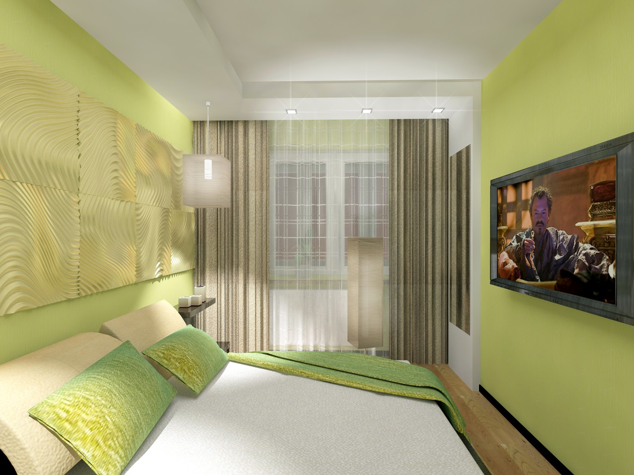 спальня 7 кв метров