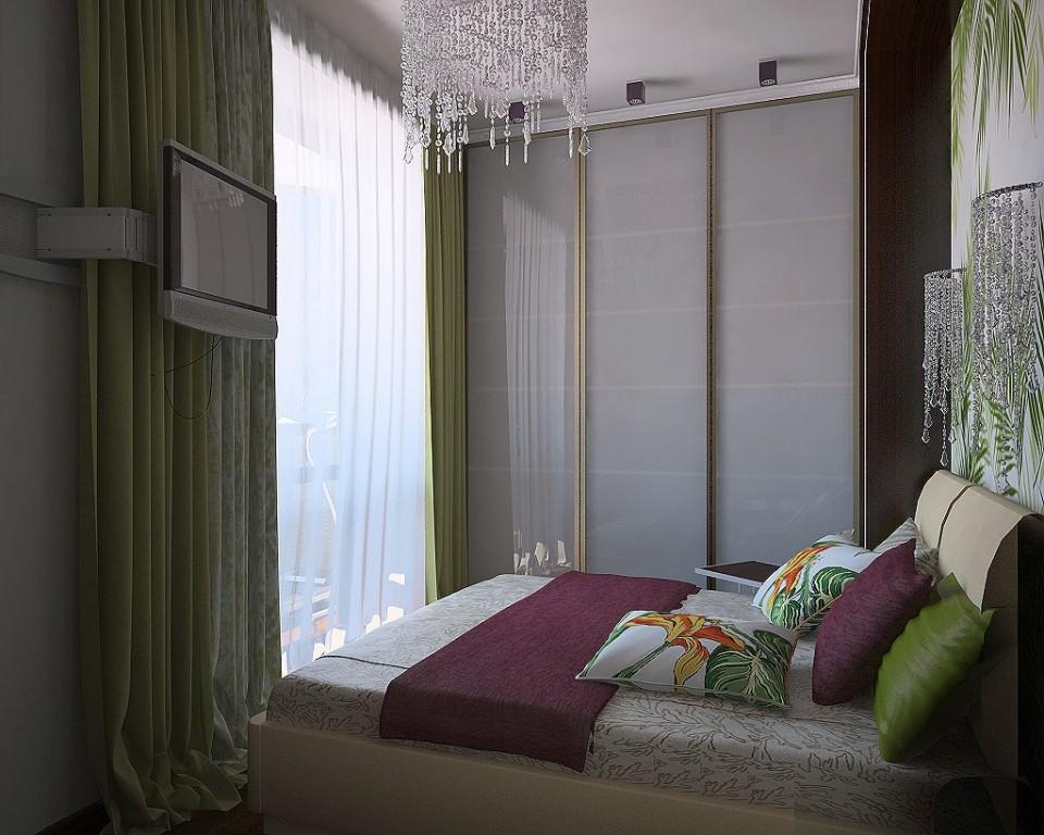 спальня 7кв метров