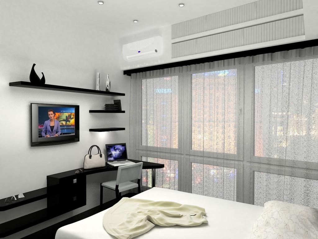 спальная комната 7 кв