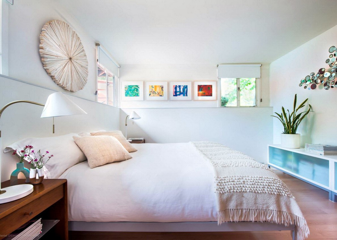 дизайн спальни 12 кв м с декором
