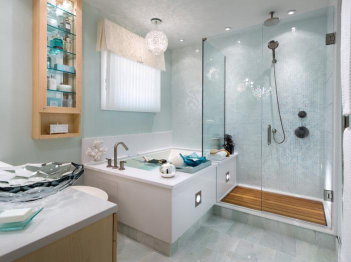 душевая кабина в ванной комнате фото дизайн