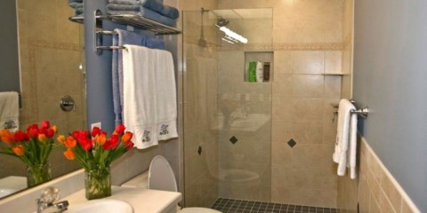 душевая кабина в ванной комнате фото дизайна