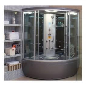 душевая кабина в ванной комнате фото вариантов