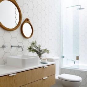 душевая кабина в ванной комнате идеи