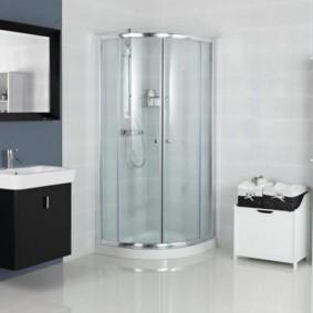 душевая кабина в ванной комнате идеи дизайн