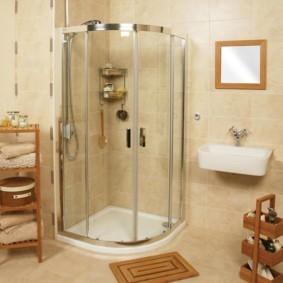 душевая кабина в ванной комнате идеи дизайна