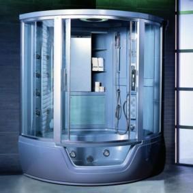 душевая кабина в ванной комнате дизайн идеи
