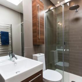 душевая кабина в ванной комнате фото видов