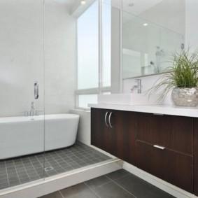 душевая кабина в ванной комнате фото виды