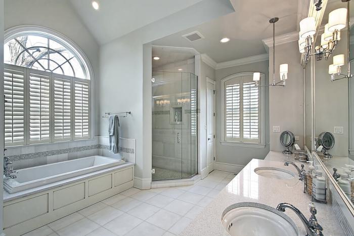 душевая кабина в ванной комнате идеи оформления