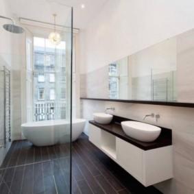 душевая кабина в ванной комнате идеи вариантов