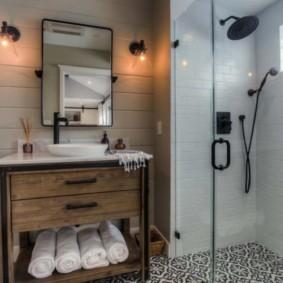 душевая кабина в ванной комнате идеи варианты