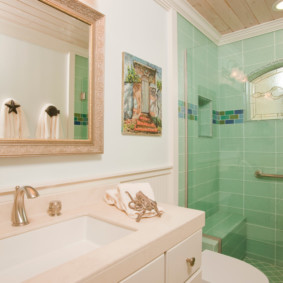 душевая кабина в ванной комнате идеи видов