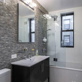 душевая кабина в ванной комнате идеи виды