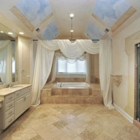 душевая кабина в ванной комнате варианты